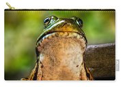 Frog Prince Or So He Thinks Carry-all Pouch by Bob Orsillo