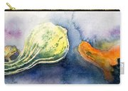Froggy And Gourds Carry-all Pouch