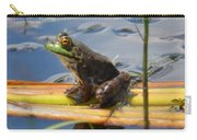 Froggy Reflections Carry-all Pouch