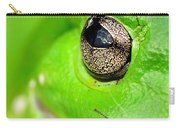 Frog's Eye Carry-all Pouch by Kaye Menner