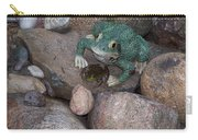 Frogs Imitation And Real  Carry-all Pouch