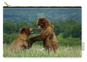 Frolicking Grizzly Bears Carry-all Pouch