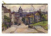 From A Hilltop In San Francisco By  Rowena Meeks Abdy Early California Artist C 1906 Carry-all Pouch