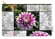 From Bud To Bloom - Dahlia Named Brian Ray Carry-all Pouch