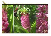 From Bud To Bloom - Eucomis Named Leia Carry-all Pouch