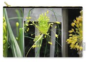 From Bud To Bloom - Fireworks Allium Carry-all Pouch