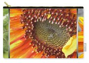 From Bud To Bloom - Sunflower Carry-all Pouch