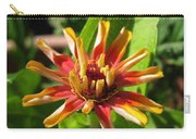 From Bud To Bloom - Zinnia Carry-all Pouch