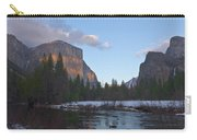 From Valley View At Sunset Carry-all Pouch
