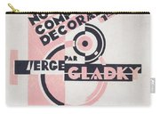 Front Cover Of Nouvelles Compositions Decoratives Carry-all Pouch by Serge Gladky