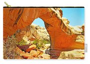 Front Of Hickman Bridge In Capitol Reef National Park-utah Carry-all Pouch
