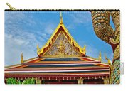 Front Of Royal Temple At Grand Palace Of Thailand In Bangkok Carry-all Pouch