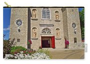 Front Of Sainte-famille Church On Ile D'orleans-qc Carry-all Pouch