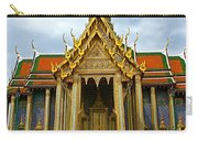Front Of Thai-khmer Pagoda At Grand Palace Of Thailand In Bangkok Carry-all Pouch