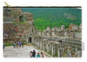 Front Of Theater In Ephesus-turkey Carry-all Pouch