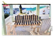 Front Porch On An Old Country House  3 Carry-all Pouch