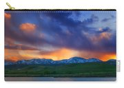 Front Range Light Show Carry-all Pouch by Darren  White