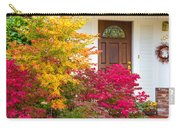 Front Yard Autumn Decor, Quincy California Carry-all Pouch