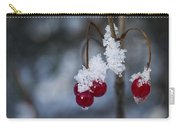 Frost Berries Carry-all Pouch