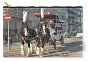 Frost Fair Horses Hastings Carry-all Pouch