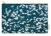 Frost Flakes On Ice - 19 Carry-all Pouch