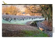 Frost In The Valley Carry-all Pouch by Bill Gallagher