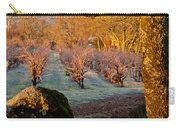 Frost In The Valley Of The Moon Carry-all Pouch by Bill Gallagher