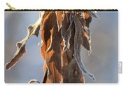 Frosted And Wilted Carry-all Pouch
