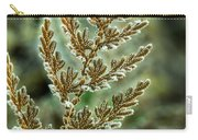 Frosted Fern Carry-all Pouch