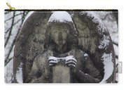 Frosted Stone Angel Carry-all Pouch