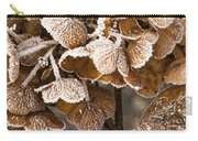 Frosted Hydrangea Carry-all Pouch