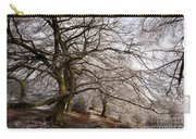 Frosted Path Carry-all Pouch by Anne Gilbert