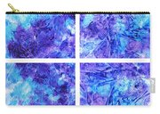 Frosted Window Abstract Collage Carry-all Pouch