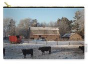 Frosty Barnyard 3 Carry-all Pouch