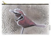 Frosty Cardinal Carry-all Pouch