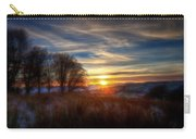 Frosty Grasses Carry-all Pouch