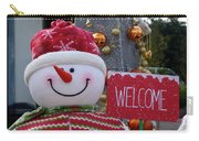 Frosty Greetings Carry-all Pouch