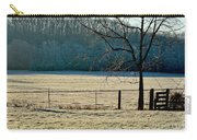 Frosty Morning Winter Landscape Carry-all Pouch