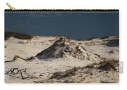 Frosty White Dunes Carry-all Pouch by Adam Jewell