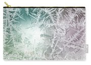 Frosty Windowpane Carry-all Pouch