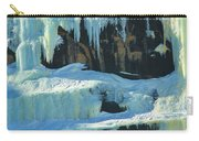 Frozen Artwork Carry-all Pouch