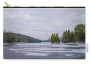 Frozen Bear Creek Lake Carry-all Pouch