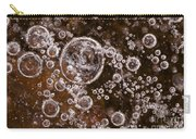 Frozen Bubbles Carry-all Pouch by Anne Gilbert