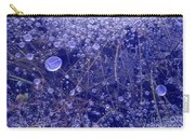 Frozen Bubbles In The Merced River Yellowstone Natioinal Park Carry-all Pouch