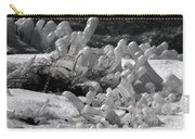 Frozen Falls Tundra Fingers Carry-all Pouch