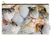 Frozen Fish On Ice Carry-all Pouch