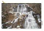 Frozen Falls From The Bridge Carry-all Pouch
