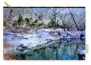 Frozen Carry-all Pouch by Kristin Elmquist