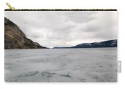 Frozen Lake Laberge Yukon Canada Carry-all Pouch
