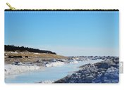 Frozen Lake Michigan Carry-all Pouch